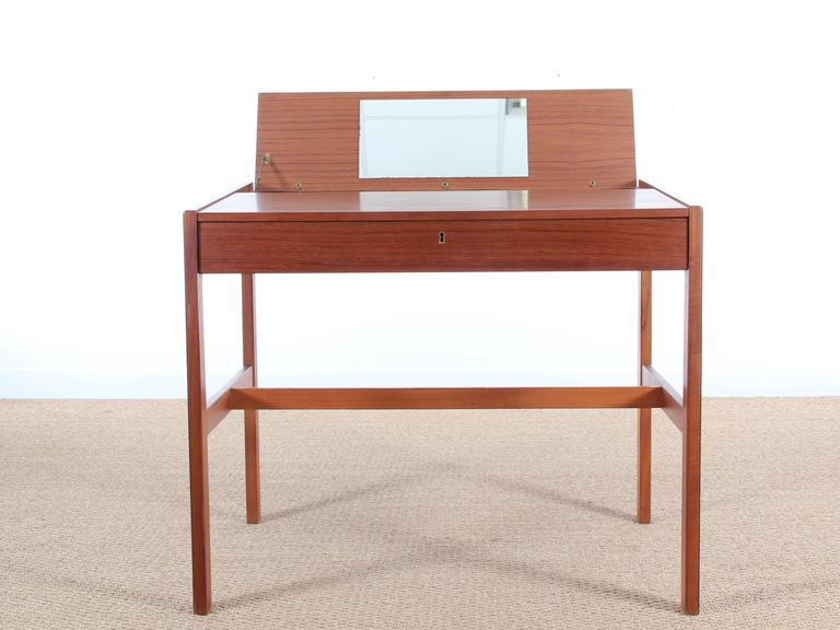 Mid-Century Modern Swedish Desk in Teak 3