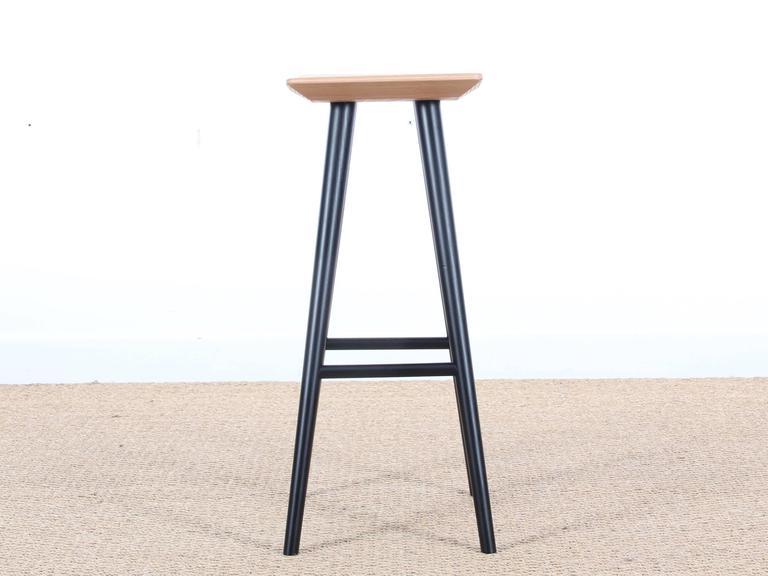 midcentury modern danish bar stool model mikado 2