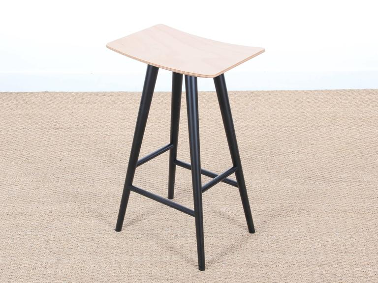 Mid-Century Modern Danish Bar Stool Model Mikado In Excellent Condition For Sale In Courbevoie, FR