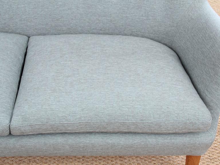 Mid-Century Modern Scandinavian Two Seats Sofa by Arne Vodder Av 53 New Release For Sale 1