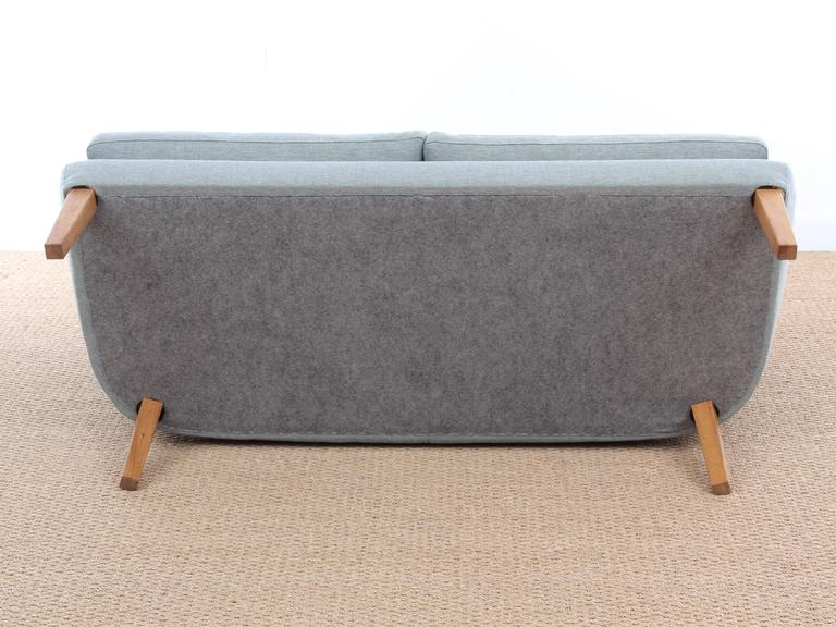 Mid-20th Century Mid-Century Modern Scandinavian Two Seats Sofa by Arne Vodder Av 53 New Release For Sale