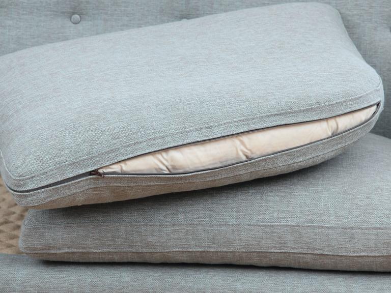 Mid-Century Modern Scandinavian Two Seats Sofa by Arne Vodder Av 53 New Release For Sale 4