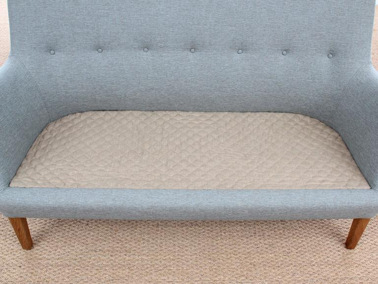 Mid-Century Modern Scandinavian Two Seats Sofa by Arne Vodder Av 53 New Release For Sale 2