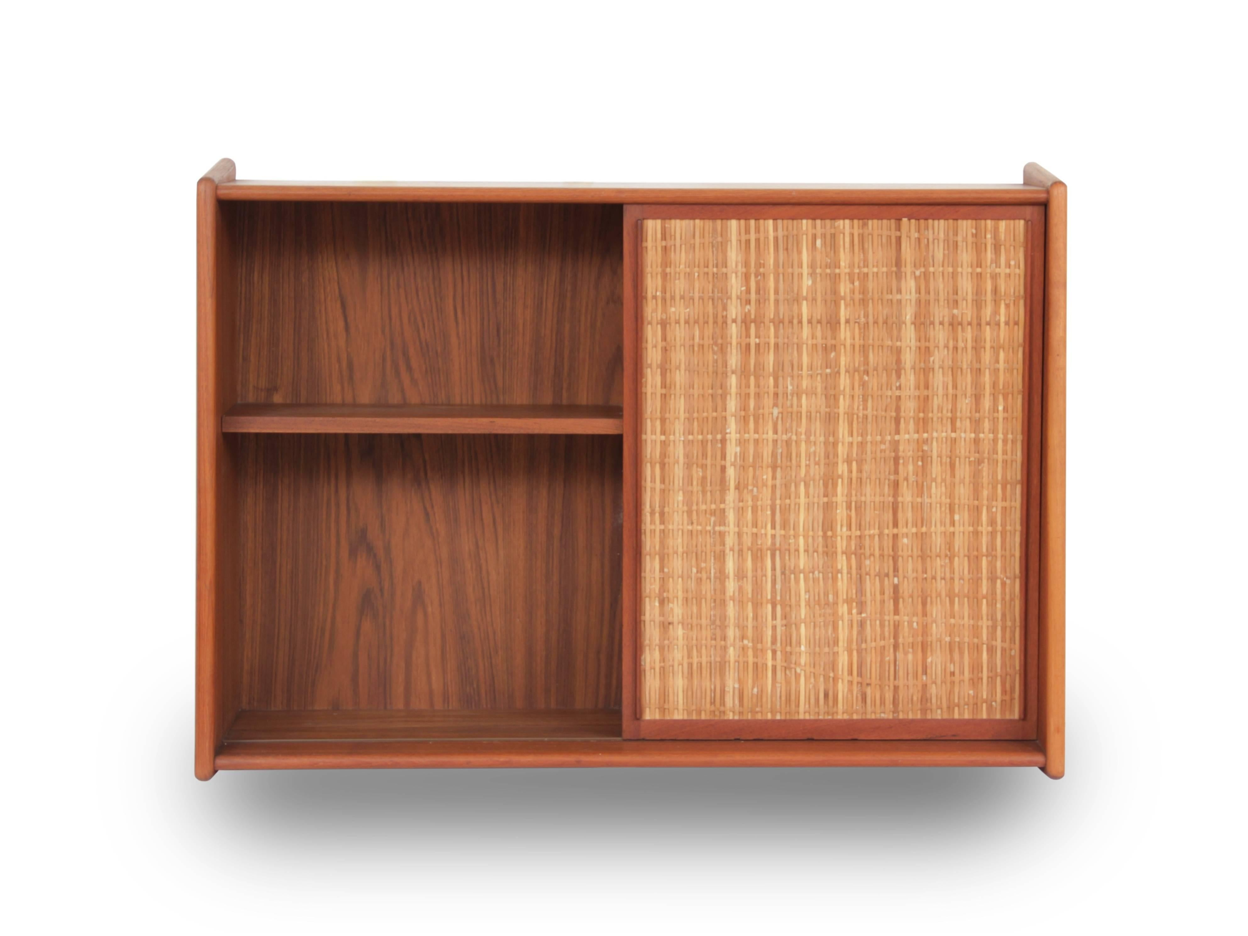 Mid Century Modern Scandinavian Bathroom Cabinet In Teak. This Small  Bathroom Cabinet Is Made