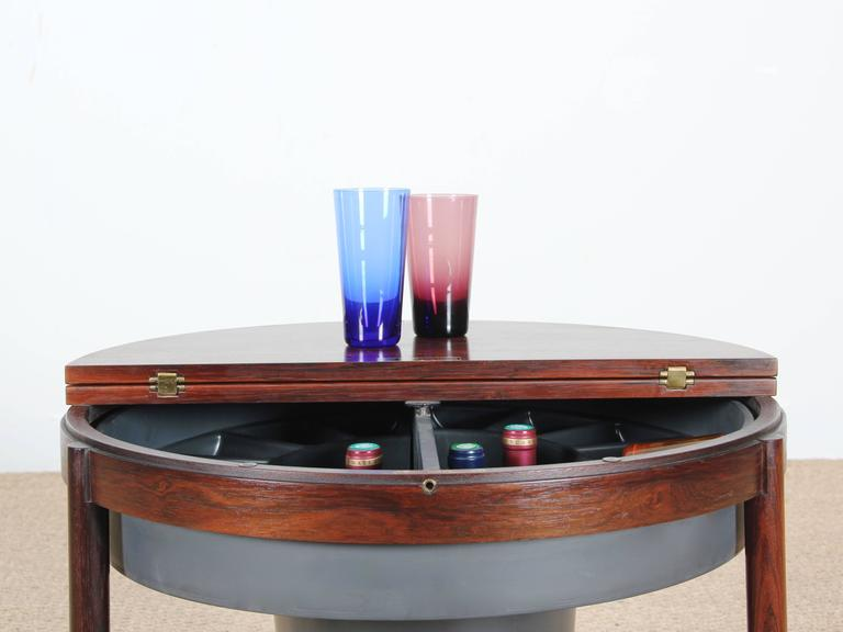 Bar Coffee Table in Palissander by Rolf Rastad and Adolf Relling For Sale 5