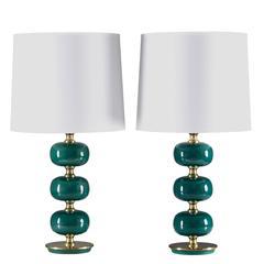 Pair of Swedish Table Lamps by Stilarmatur Tranås