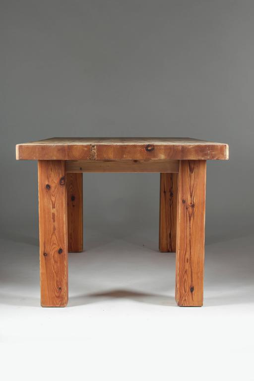 swedish table made of wood from an old barn for sale at 1stdibs. Black Bedroom Furniture Sets. Home Design Ideas