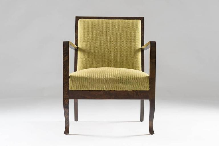 20th Century Swedish Art Deco Lounge Chairs For Sale