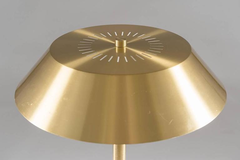 """Danish Table Lamp """"President"""" by Jo Hammerborg for Fog & Mørup 3"""
