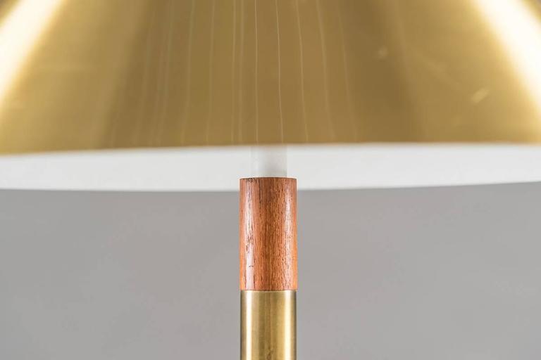 """Danish Table Lamp """"President"""" by Jo Hammerborg for Fog & Mørup 4"""