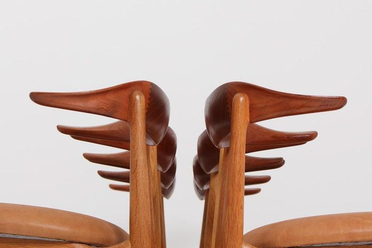 20th Century Set of Eight Danish Dining Chairs