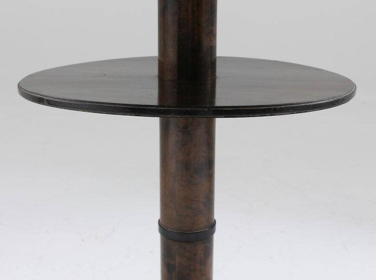Birch Swedish Art Deco Coffee or Side Table For Sale