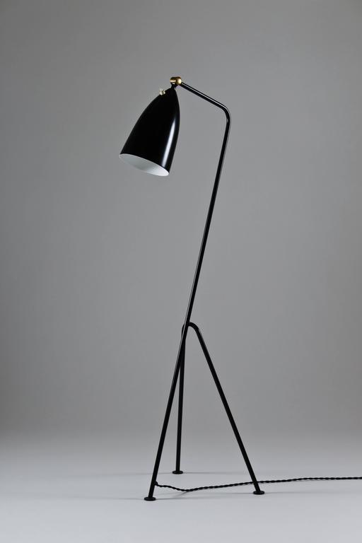 grasshopper floor lamp by greta grossman for bergboms at. Black Bedroom Furniture Sets. Home Design Ideas