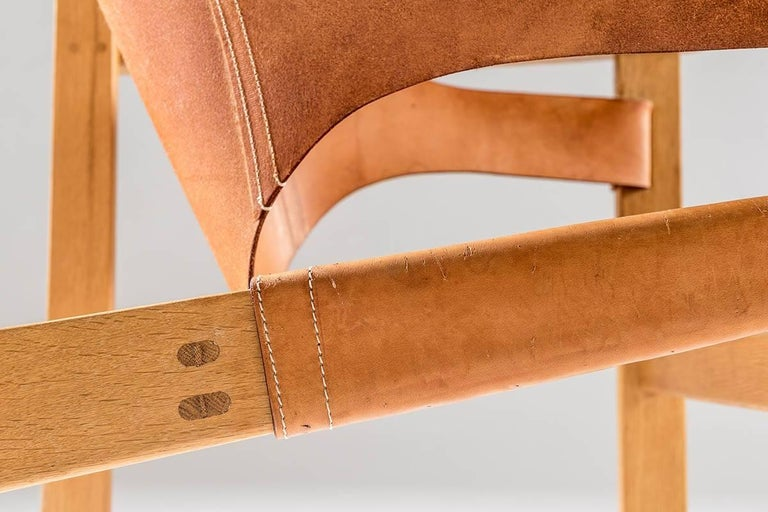 Leather Scandinavian Easy Chair