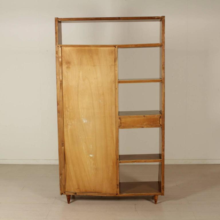 Damaged Kitchen Cabinets For Sale: Cabinet Mahogany Veneer Solid Beech Vintage Manufactured