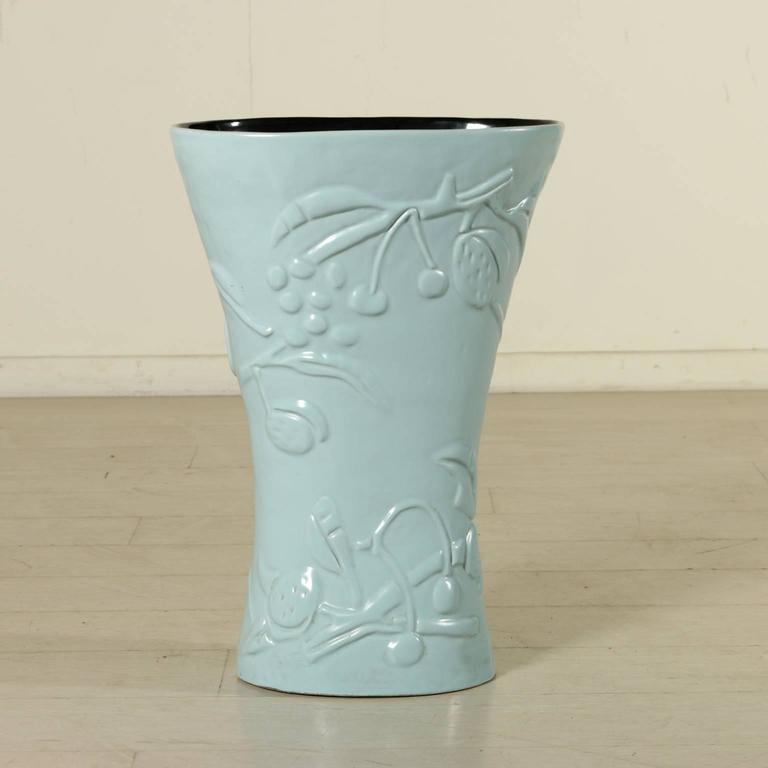 Ceramic Vase/Umbrella Stand by Campi for Società Ceramica Italiana Laveno, 1950s 3