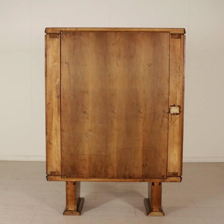 Damaged Kitchen Cabinets For Sale: Cabinet Walnut Birch Veneer Inlaid Decorations Vintage