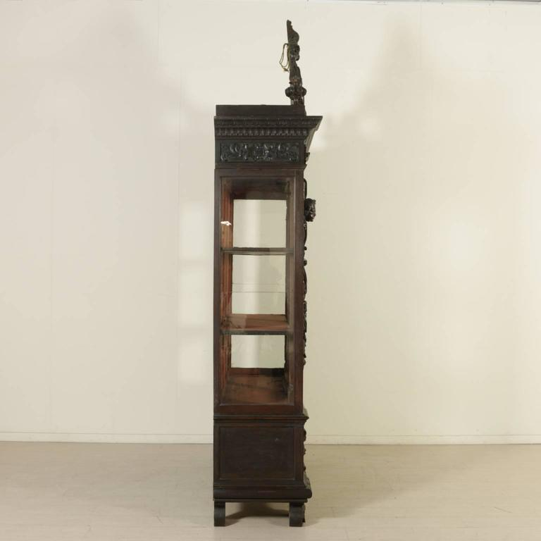 Pair of Late 19th Century Neo-Renaissance Walnut Bookcases For Sale 3