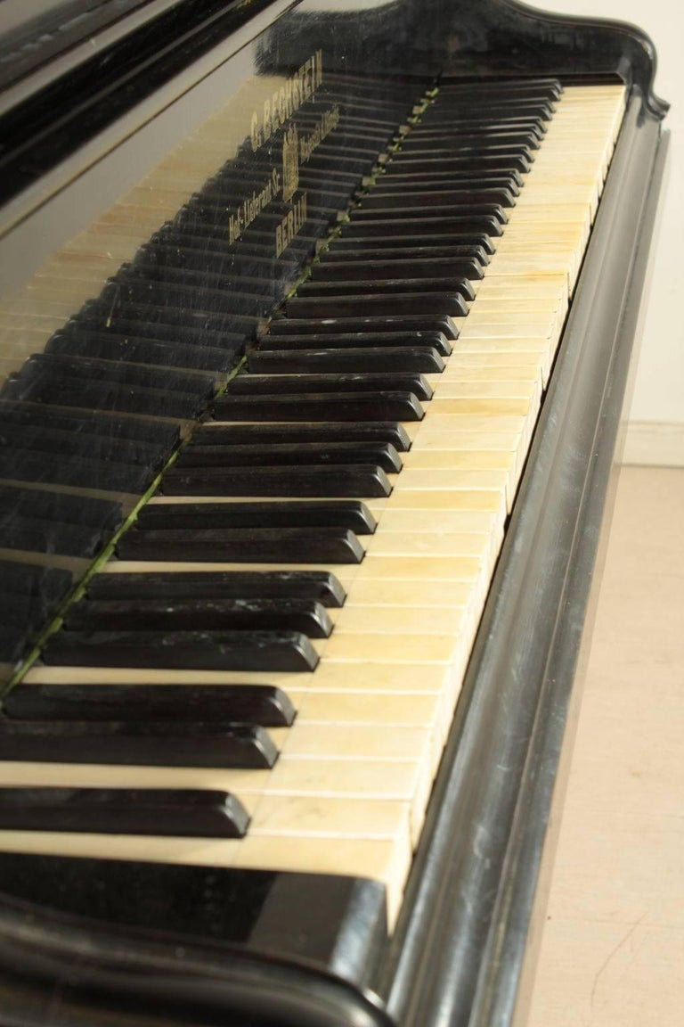 Bechstein Grand Piano Manufactured in Germany, 1878 For Sale 1