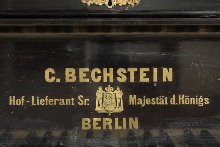 Bechstein Grand Piano Manufactured in Germany, 1878 For Sale 2