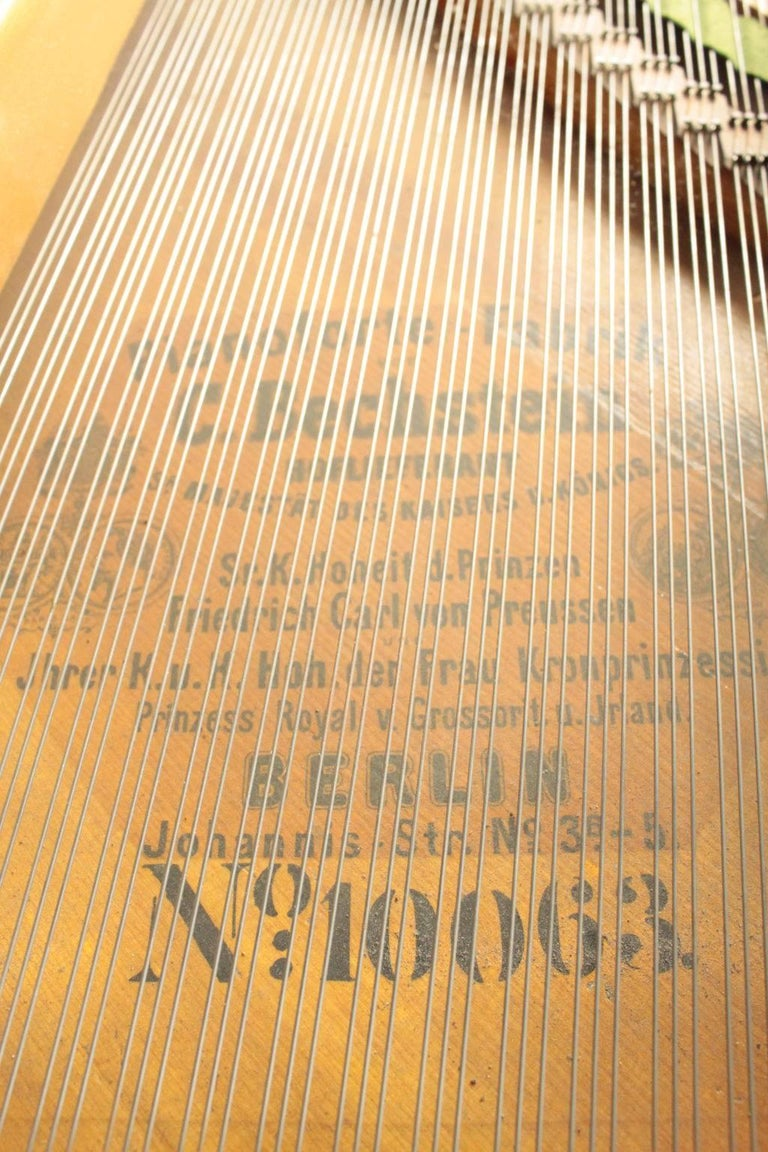 Bechstein Grand Piano Manufactured in Germany, 1878 For Sale 5