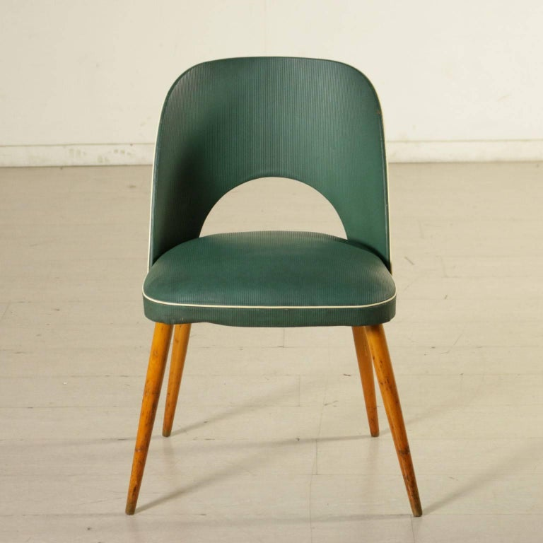 six chairs springs skai leatherette beech vintage  italy five chairs nashville five chairs nashville tn