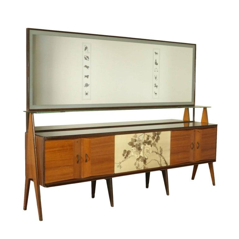 Sideboard rosewood veneer la permanente mobili cant - Mobili buffet moderni ...