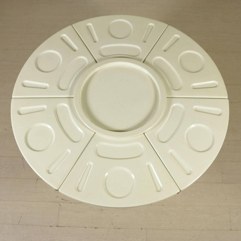 Italian Table by Fabio Lenci for Bernini Polyurethane Vintage, Italy, 1970s For Sale