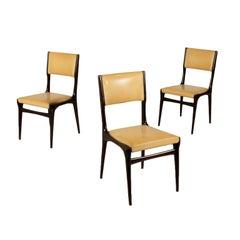 Set of Chairs Designed by Carlo de Carli Skai Vintage, Italy, 1950s