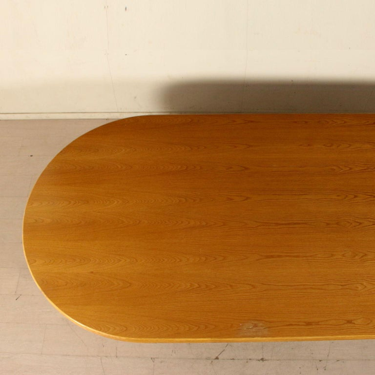 Large Table for McGuire Leather Bamboo Vintage USA, 1980s For Sale 1