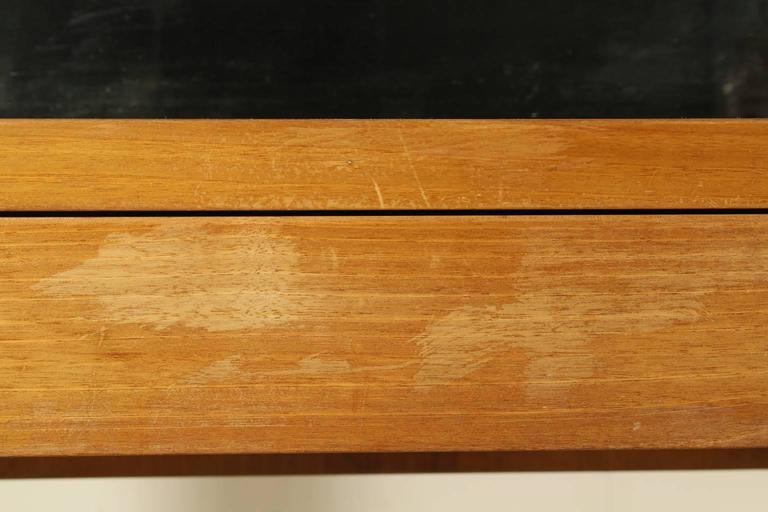Dressing Table With Mirror Solid Wood Exotic Wood Veneer