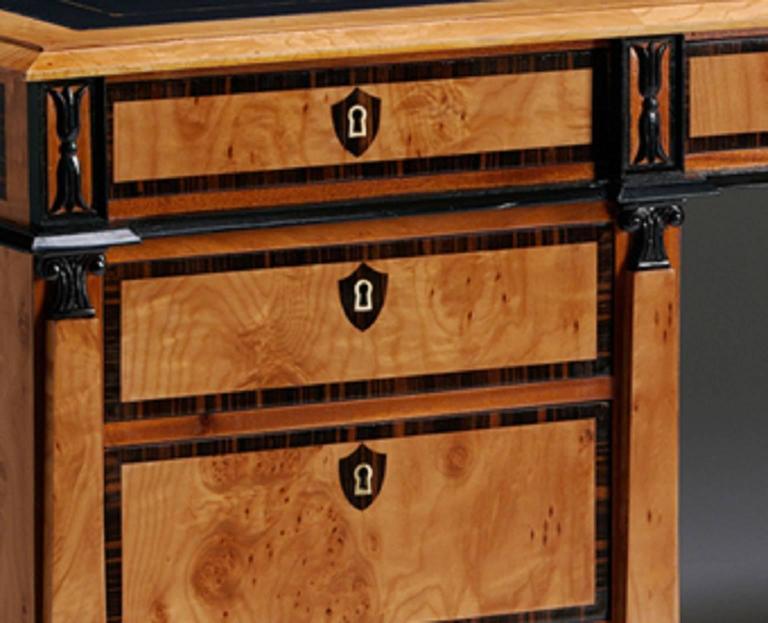 Pedestal Desk in the Biedermeier manner 4