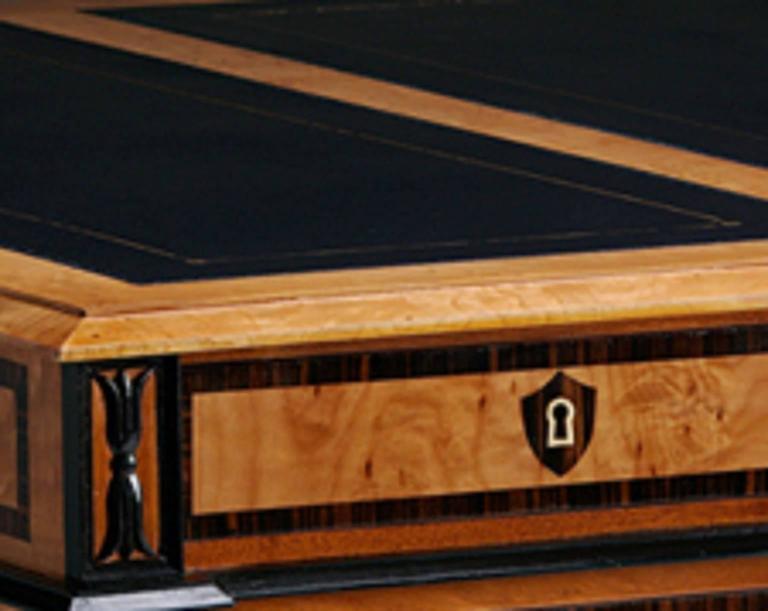 Pedestal Desk in the Biedermeier manner 6