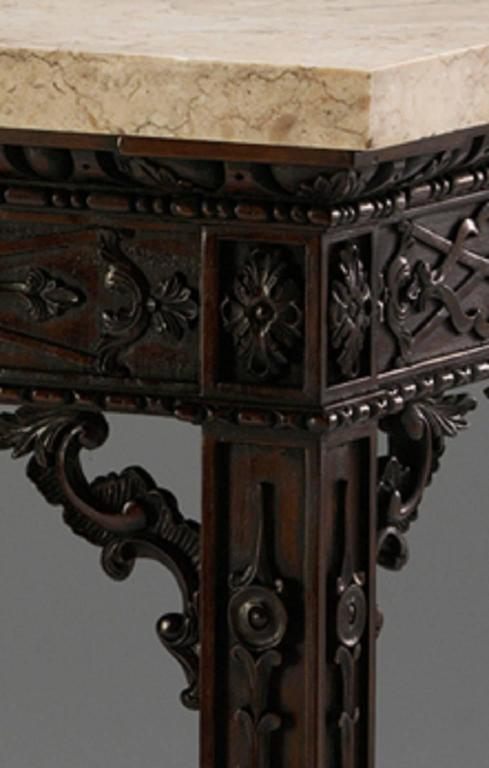 English Fret Pier Tables in the Chippendale manner For Sale