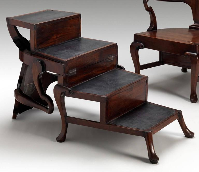 Hand-Carved Metamorphic Chairs For Sale