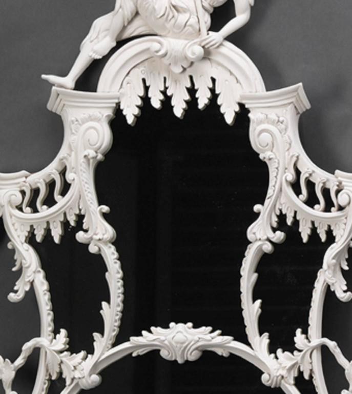 Contemporary Pair of Pagoda Pier Mirrors For Sale