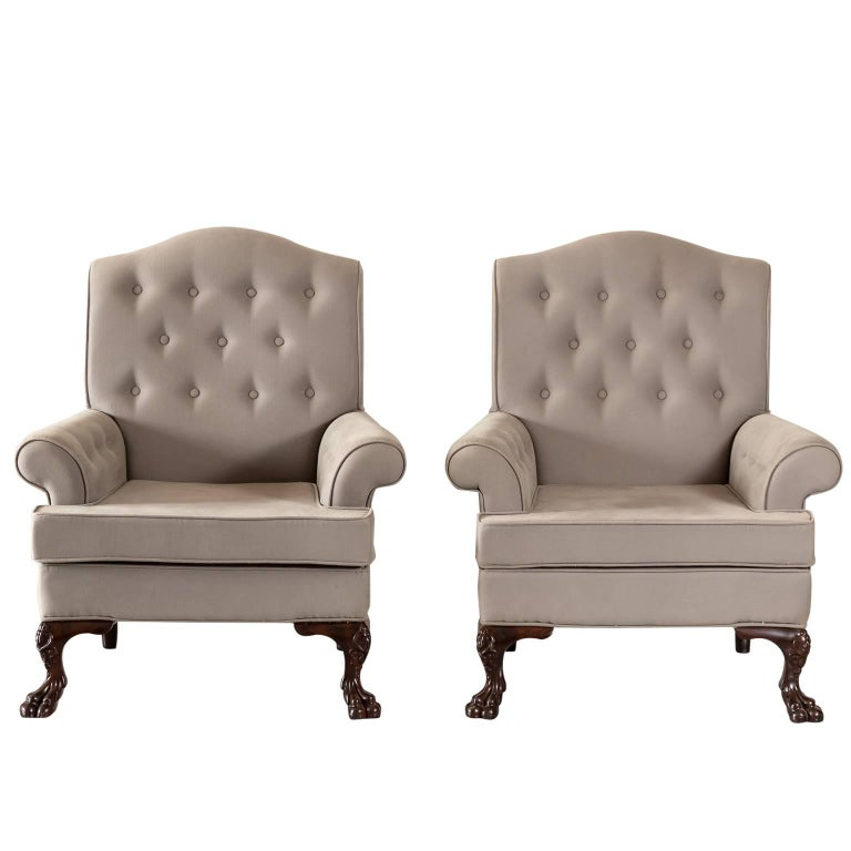 Pair of Antique Anglo-Indian or British Colonial Club Chairs 1 - Pair Of Antique Anglo-Indian Or British Colonial Club Chairs For