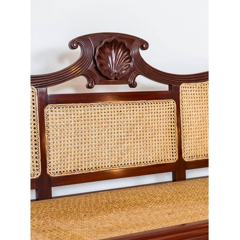 anglo indian or british colonial mahogany sofa at 1stdibs. Black Bedroom Furniture Sets. Home Design Ideas