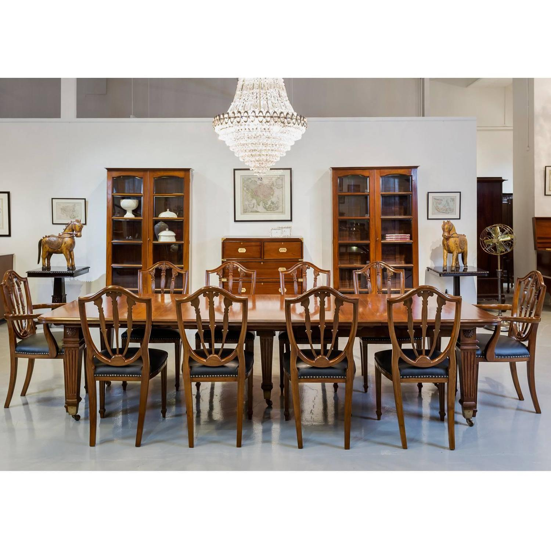 Anglo Indian or British Colonial Teakwood Extending Dining  : AntiqueBritishcolonialteakwoodextendingdiningtablewithoriginal10chairslThePastPerfectCollectionlSingaporel294D2z from www.1stdibs.com size 1500 x 1500 jpeg 198kB