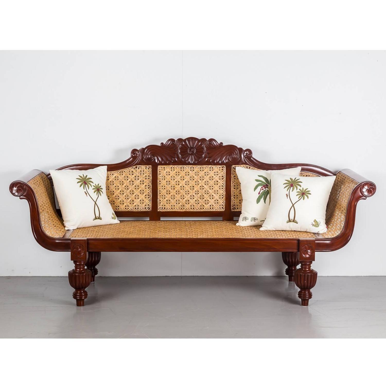 Antique Anglo Indian Mahogany Sofa At 1stdibs