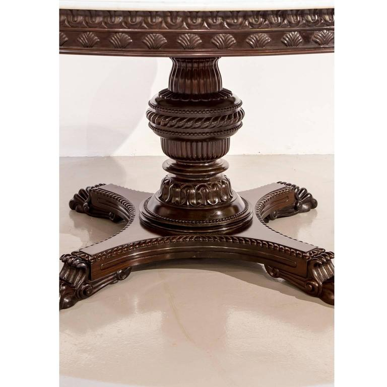 Antique Anglo Indian Or British Colonial Rosewood Dining
