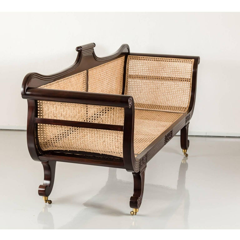 antique anglo indian or british colonial rosewood sofa at 1stdibs. Black Bedroom Furniture Sets. Home Design Ideas