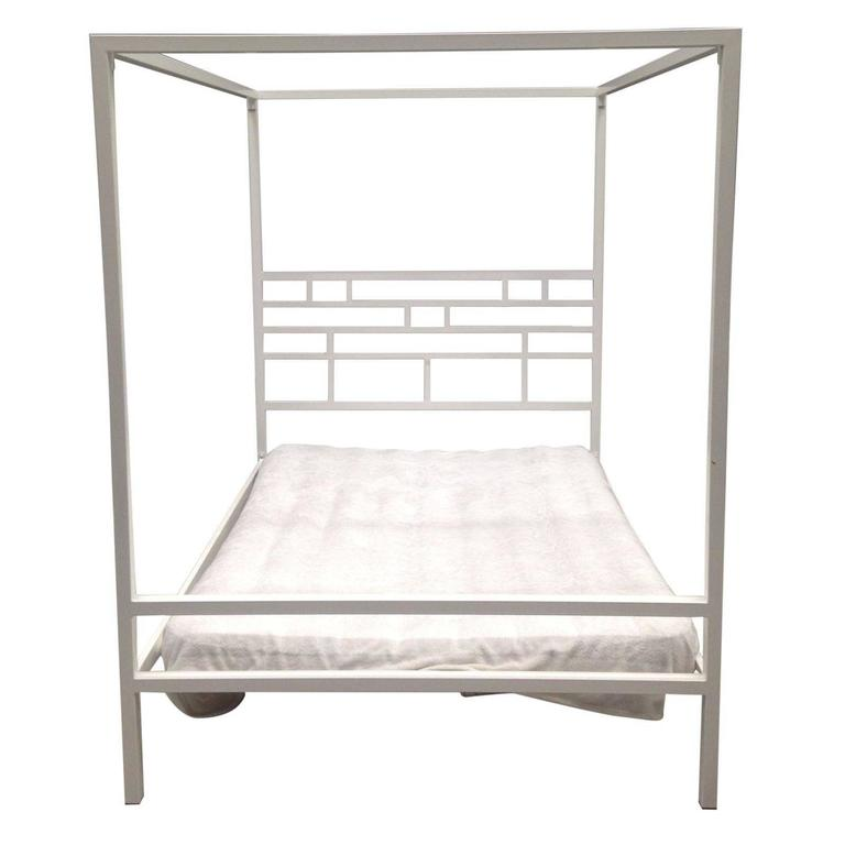 Four-Poster Canopy Bed, Mid-Century