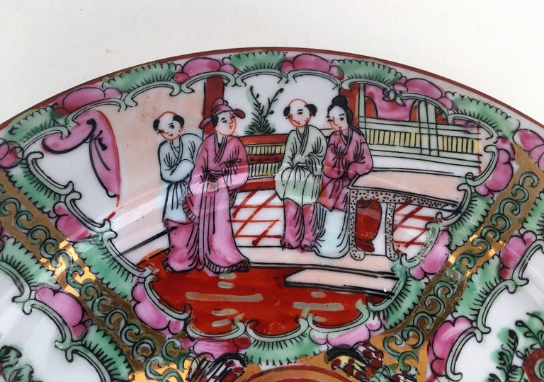 19th century, Chinese porcelain plates