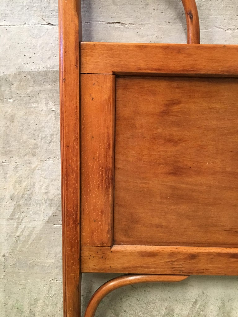 20th Century Vienna Secession Single Bentwood Headboard In Excellent Condition For Sale In Miami, FL