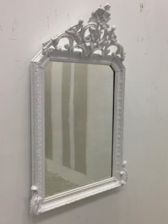Antique French Painted, Provencal Louis XVI Period Mirror, circa 1780 3