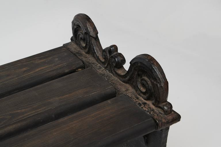 Swedish Park Bench by Folke Bensow, 1920s For Sale