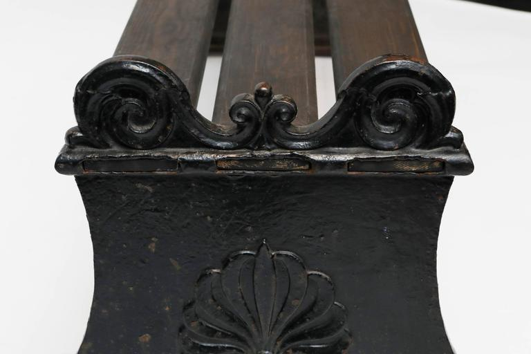 Park Bench by Folke Bensow, 1920s For Sale 2