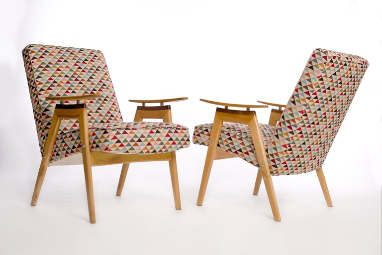 Lounge Chairs by Jaroslav Smidek for Jitona, 1960s, Set of 2 In Excellent Condition For Sale In Wien, AT