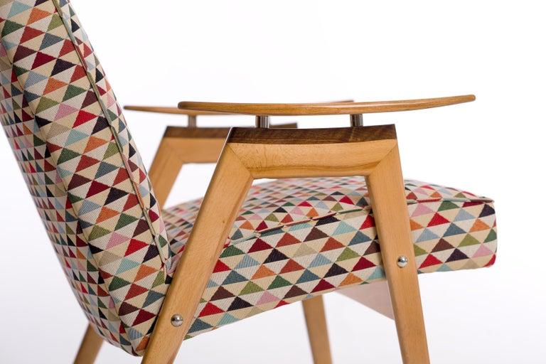 20th Century Lounge Chairs by Jaroslav Smidek for Jitona, 1960s, Set of 2 For Sale